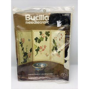 Vintage Bucilla Needlecraft Screen Kit NOS